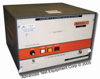 Amplifier Research 100L Amplifier, 10 kHz - 220 MHz, 100W