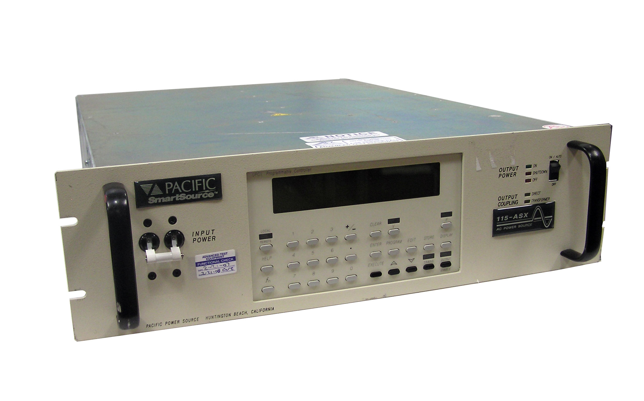 Pacific Power 115ASXT AC Power Source, 1.5 kV