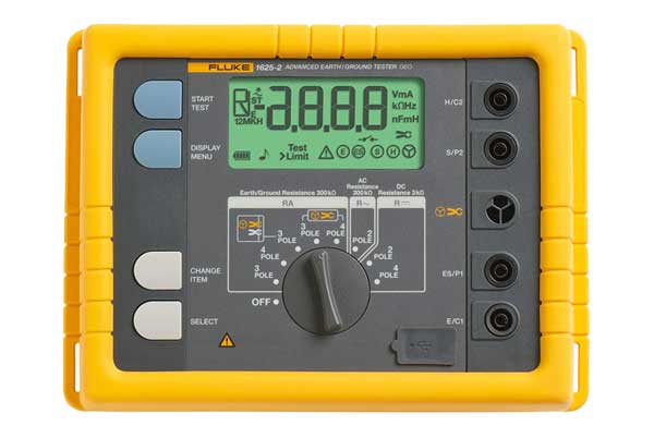Rent Fluke 1625 GEO Earth Ground Tester