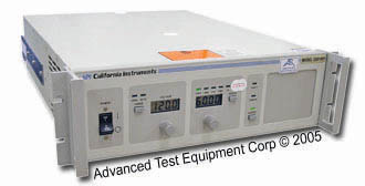 CA Instruments 2001RP Programmable AC Power Source