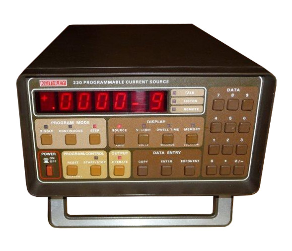 Keithley 220 Programmable Current Source %>