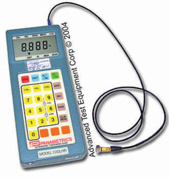 Rent Olympus (Panametrics) 22DLHR Ultrasonic Thickness Gauge