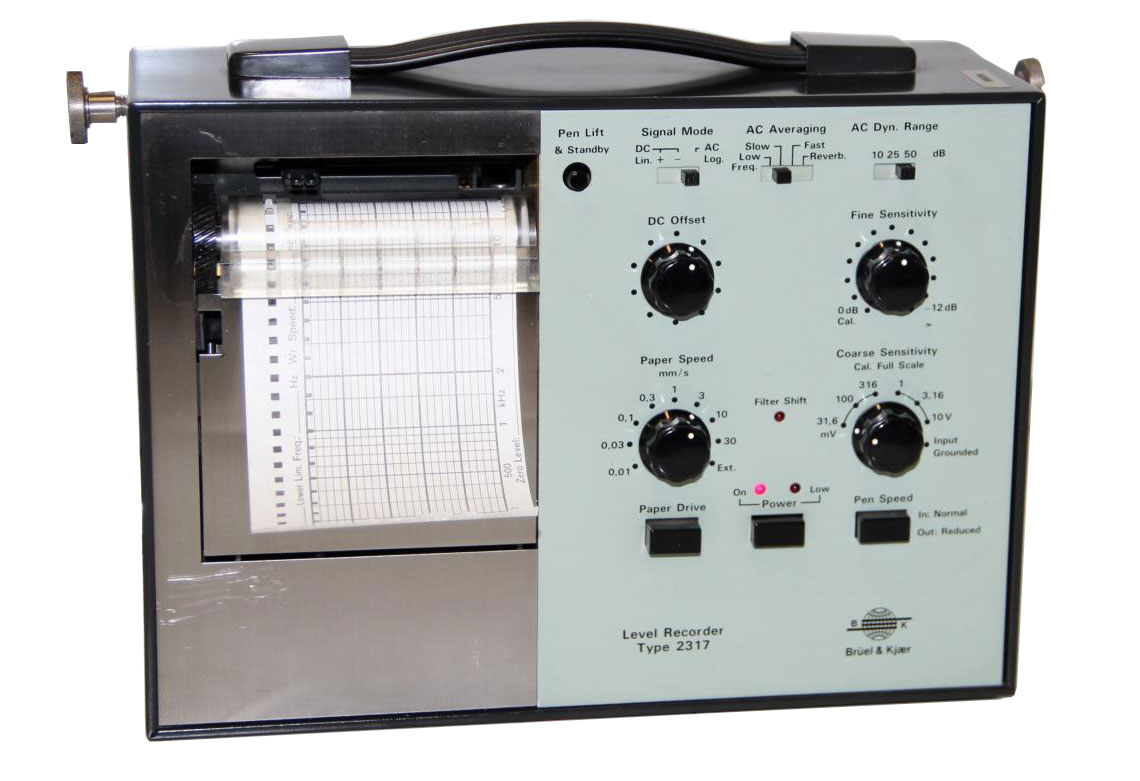 Bruel & Kjaer 2317 Handheld Graphic Level Recorder