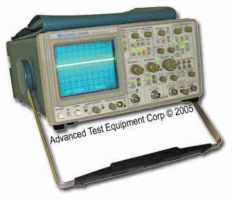 Rent Tektronix 2445A Analog Oscilloscope 150 MHz