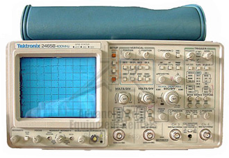 Rent Tektronix 2465B Analog Oscilloscope 400 MHz