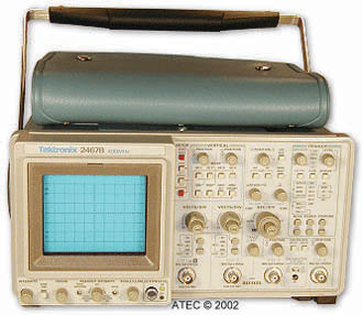 Rent Tektronix 2467B Analog Oscilloscope 400 MHz
