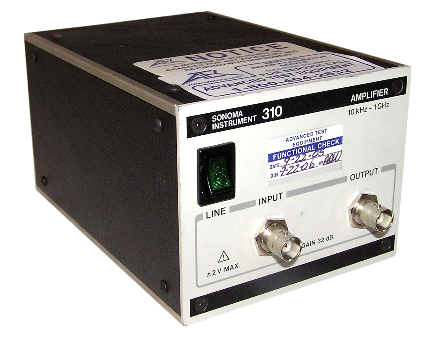 Sonoma 310B Low Noise Amplifier
