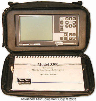 Riser Bond 3300 Twisted Pair Metallic Time Domain Reflectometer