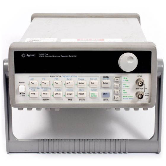 Rent HP Agilent 33120A Function/Arbitrary Waveform Generator, 15MHz