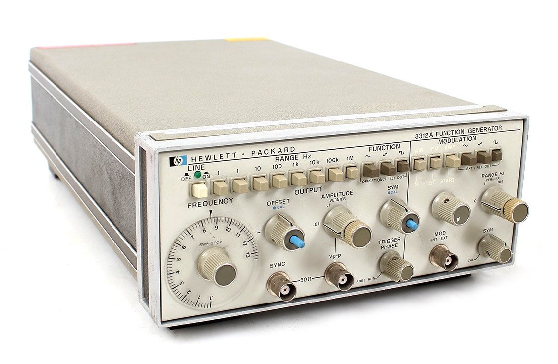 HP/Agilent 3312A Function Generator 0.1 Hz to 13 MHz