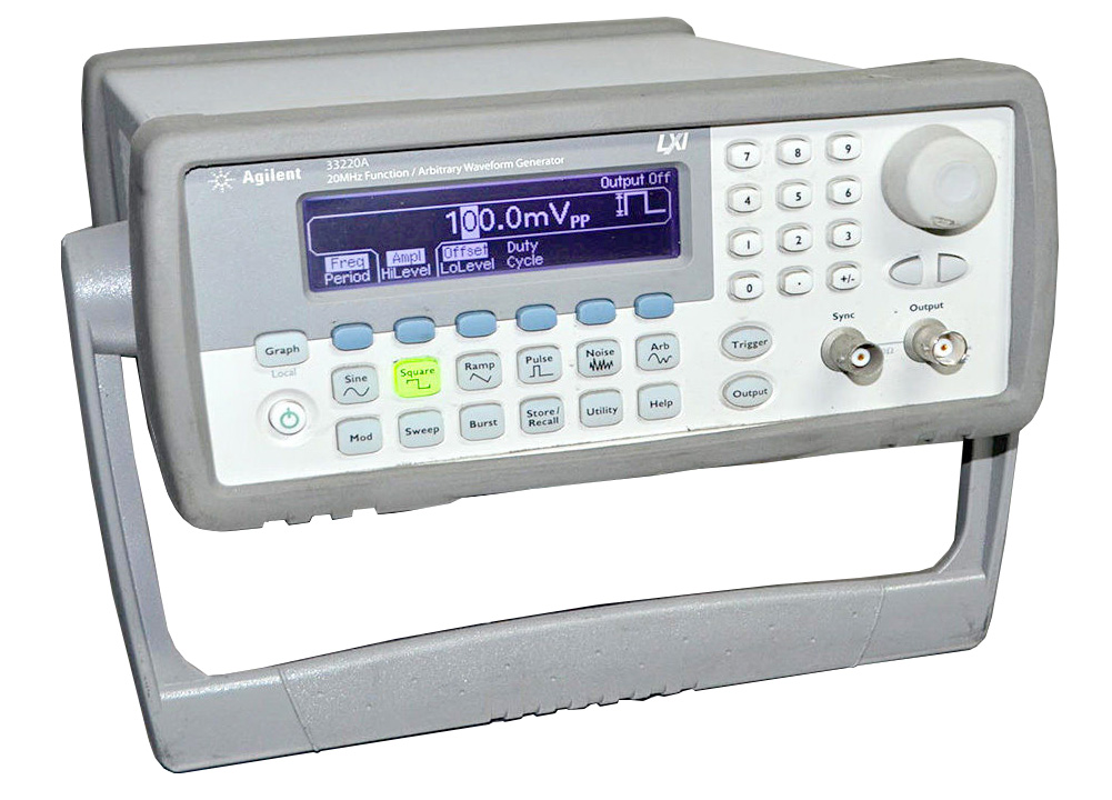 Rent Agilent 33220A Function Waveform Generator, 20 MHz