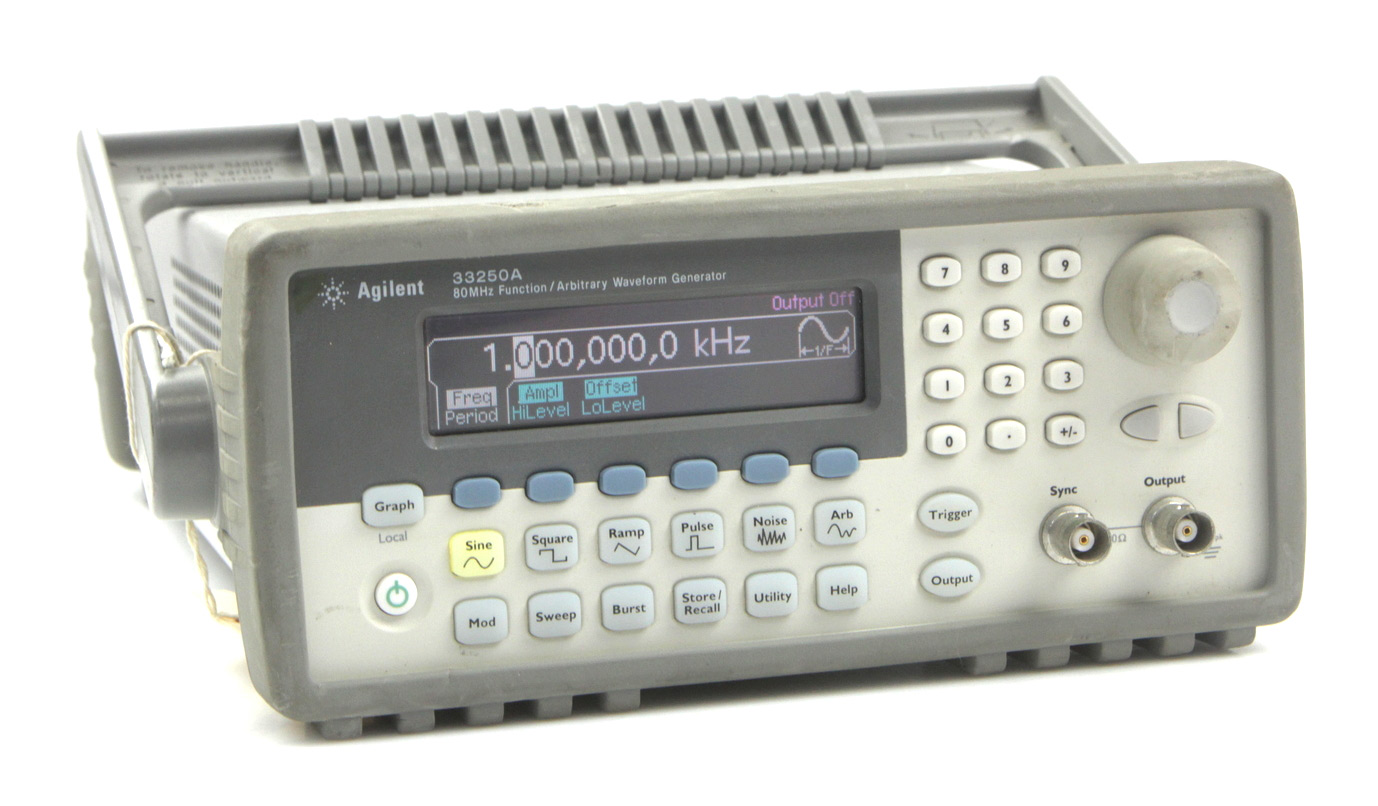 Rent HP Agilent 33250A Function / Arbitrary Waveform Generator, 80 MHz
