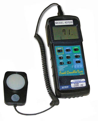 Extech 407026 Foot Candle/Lux Meter