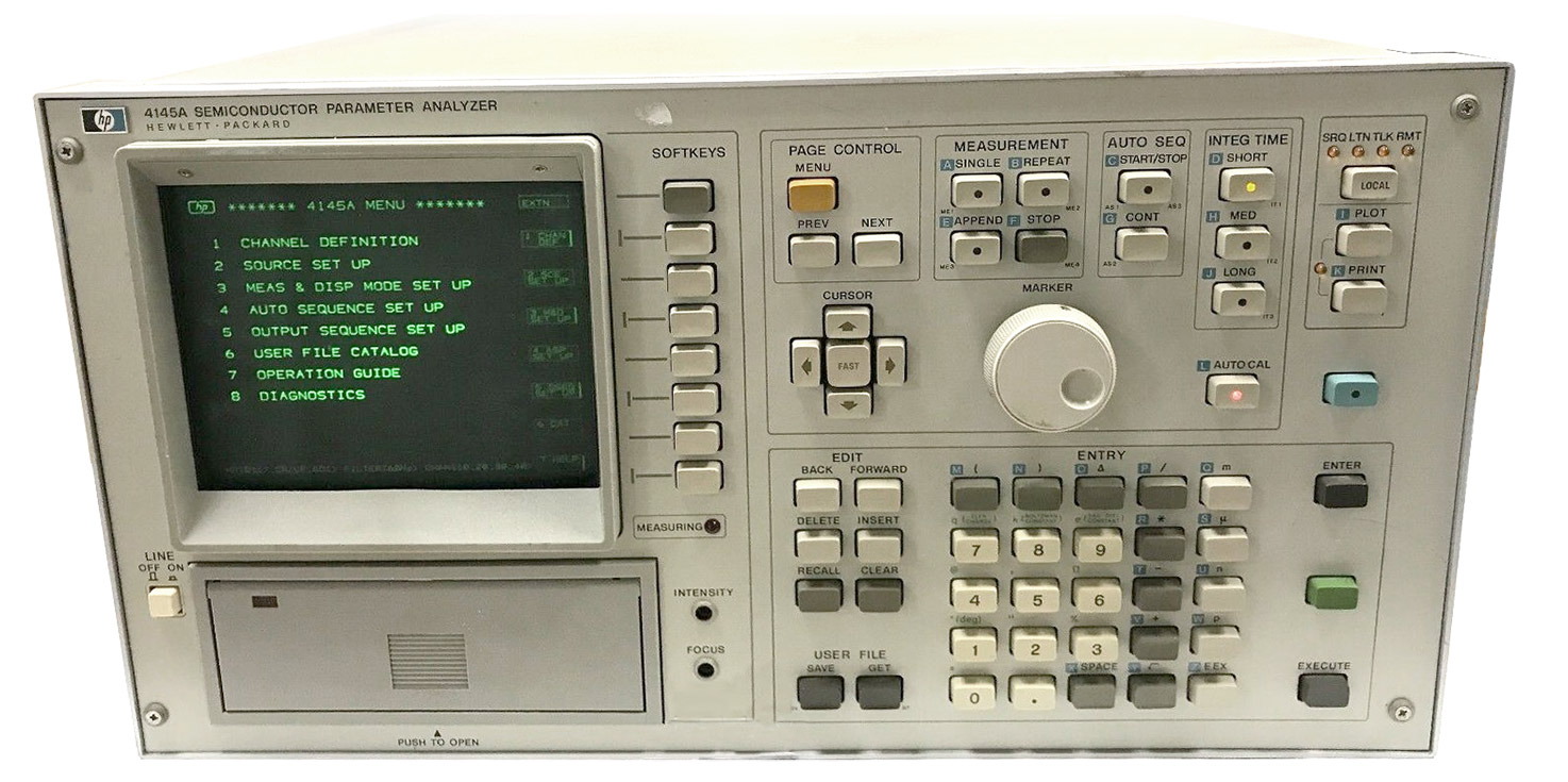 HP Agilent 4145A Semiconductor Parameter Analyzers