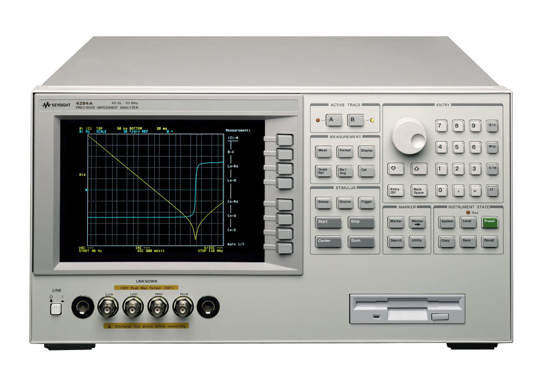 HP/Agilent 4294A Precision Impedance Analyzer