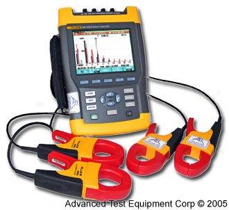 Fluke 433 Three-Phase Power Quality Analyzer