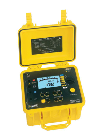 AEMC 5060 5000V Digital/Analog Megohmmeter