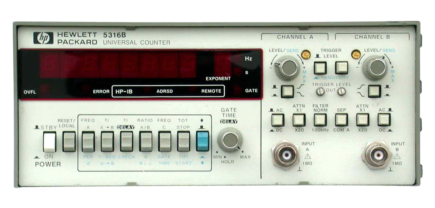 HP/Agilent 5316B Universal Counter 100 MHz