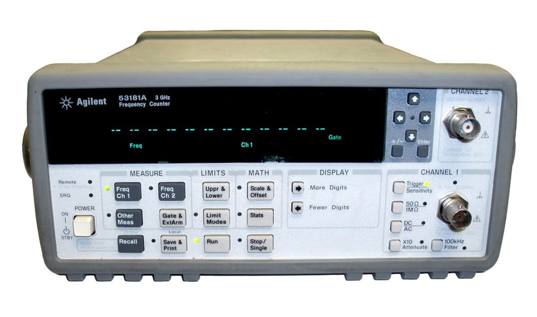 Rent, Buy, or Lease the HP/Agilent 53181A RF Frequency Counter | 10 digit/sec. - Advanced Test Equipment Rentals | Call 1-800-404-ATEC(2832) for pricing…