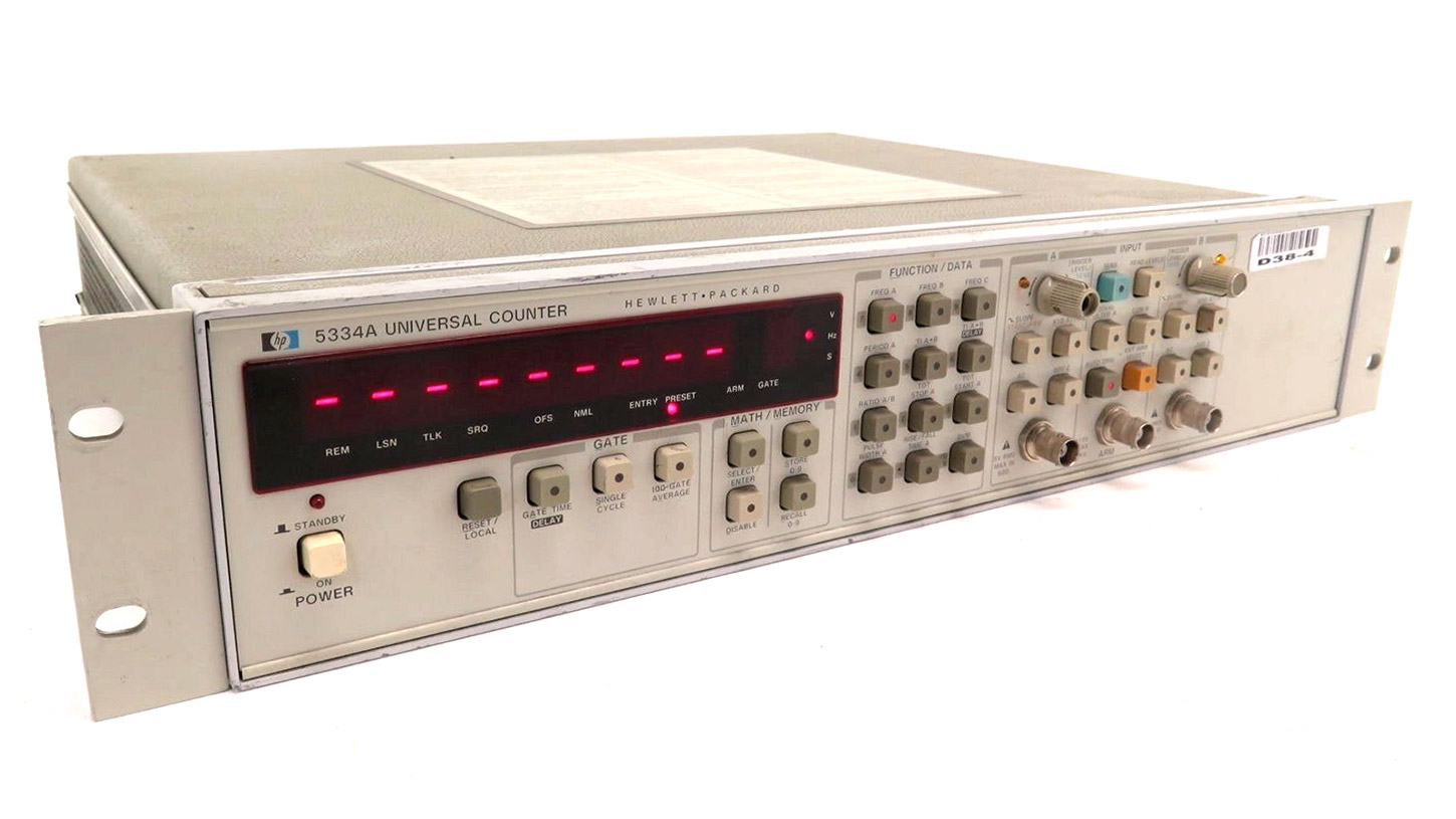 HP/Agilent 5334A Two-Channel Universal Counter