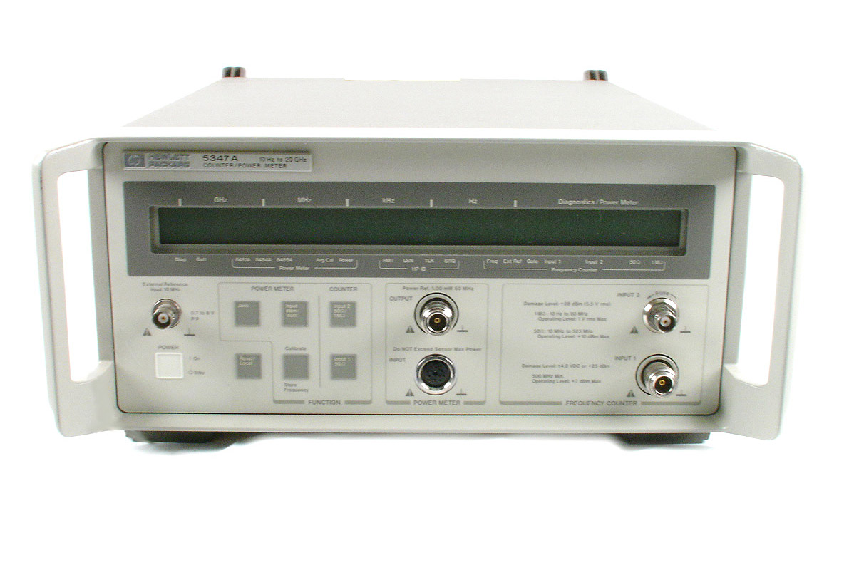 HP/Agilent 5347A2 Microwave Counter/Power Meter 20 GHz