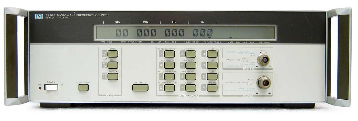 HP Agilent 5350A Microwave Frequency Counter