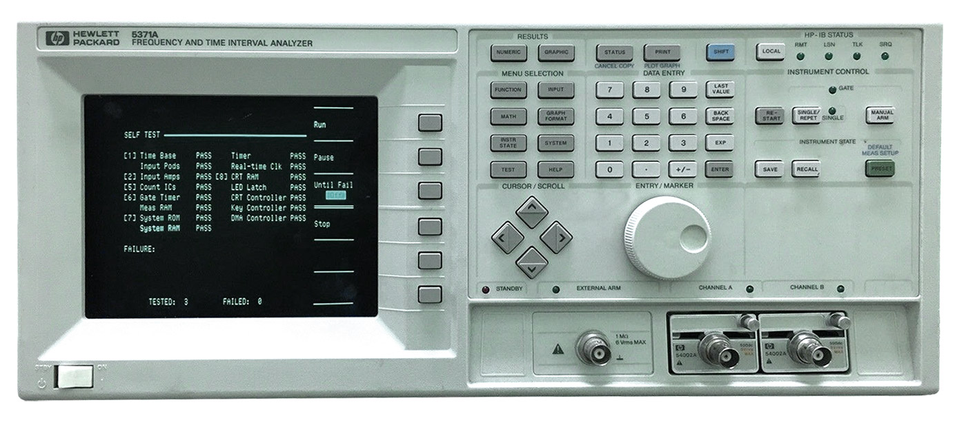 HP Agilent 5371A Frequency & Time Interval Analyzer