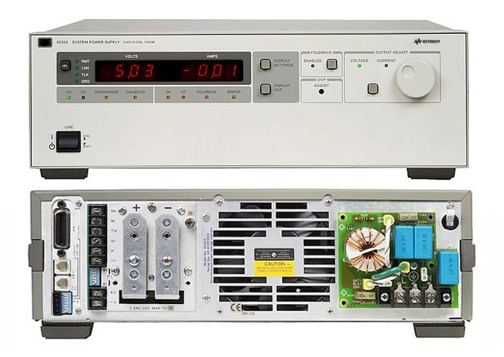 Rent HP Agilent 6032A 0 to 60 V, 0 to 50 A DC Power Supply