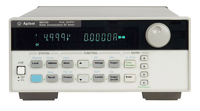 HP/Agilent 66319D Mobile Communications DC Source