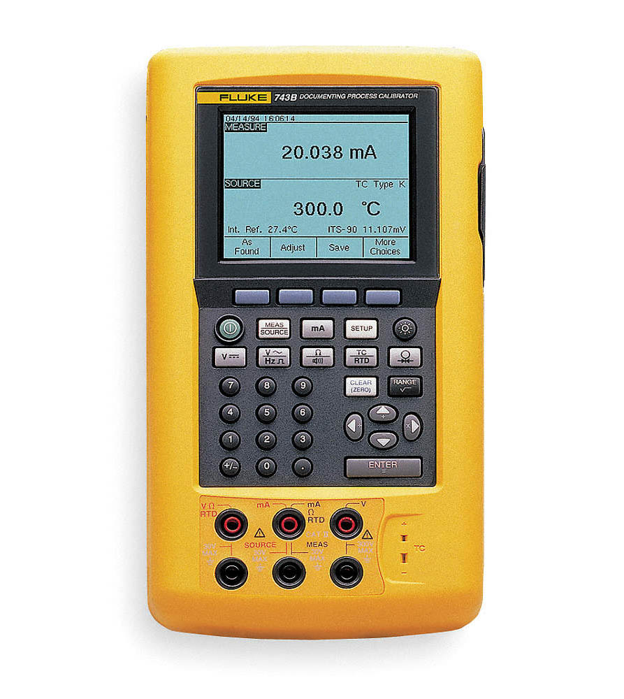 Fluke 743B Documenting Process Calibrator %>