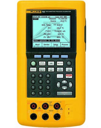 Fluke 744 Documenting Process Calibrator (HART) %>