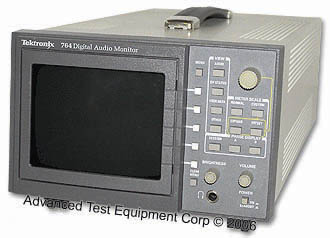 Tektronix 764 Digital Audio Monitor