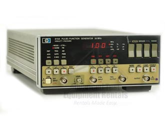 HP/Agilent 8116A Pulse/Function Generator