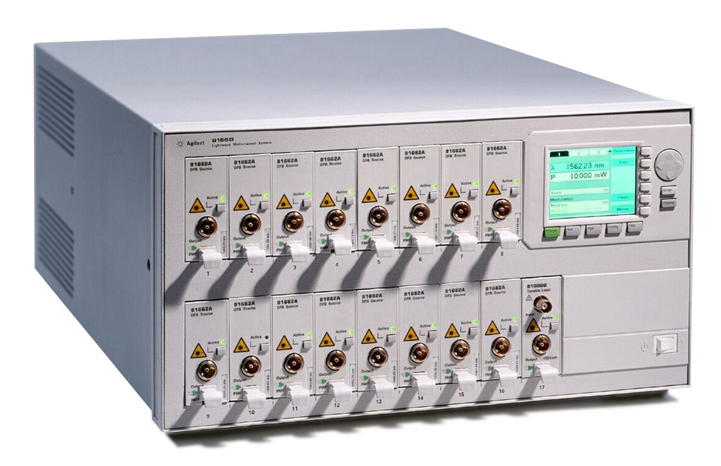 HP/Agilent 8166A Lightwave Multichannel System