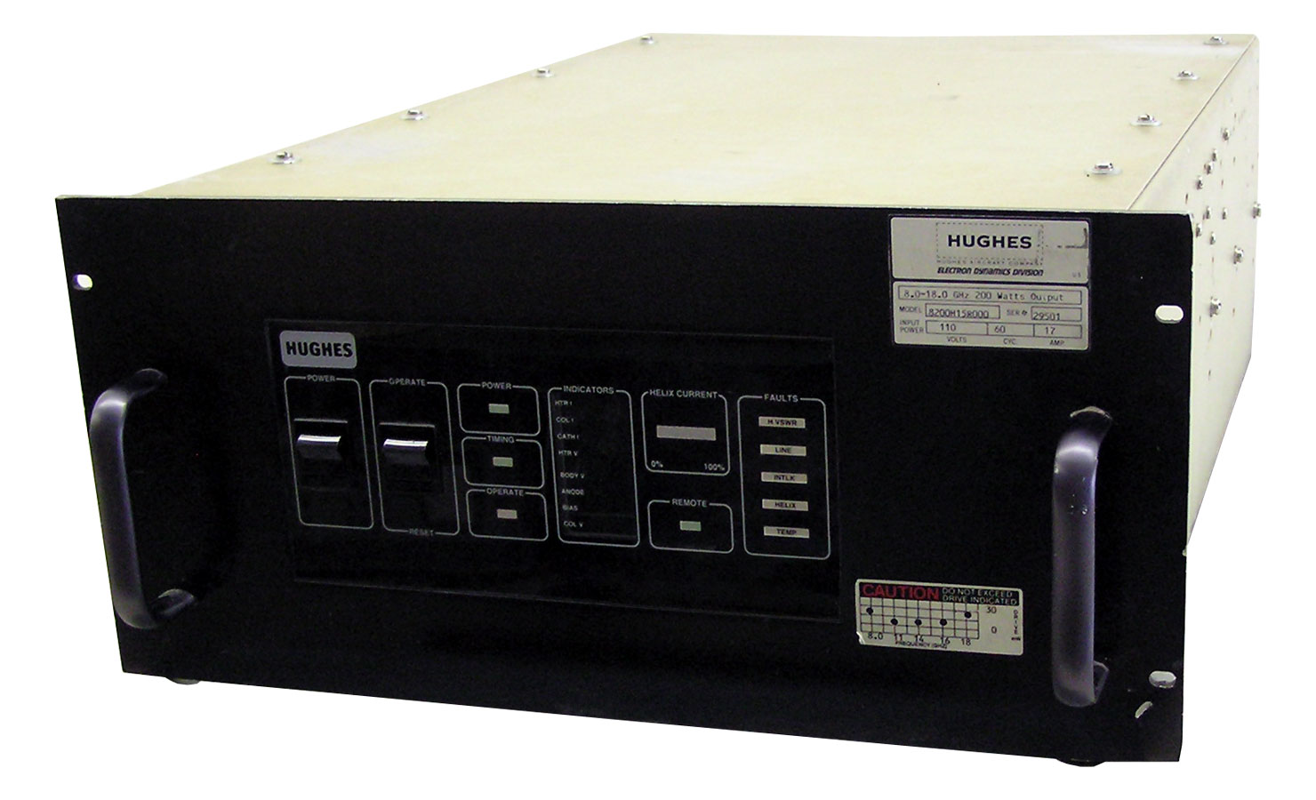 Hughes 8200H15R TWT Amplifier