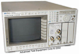 HP/Agilent 83480A Digital Communications Analyzer
