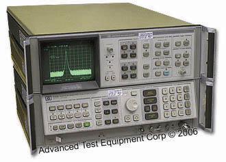 HP/Agilent 8566B Laboratory Spectrum Analyzer