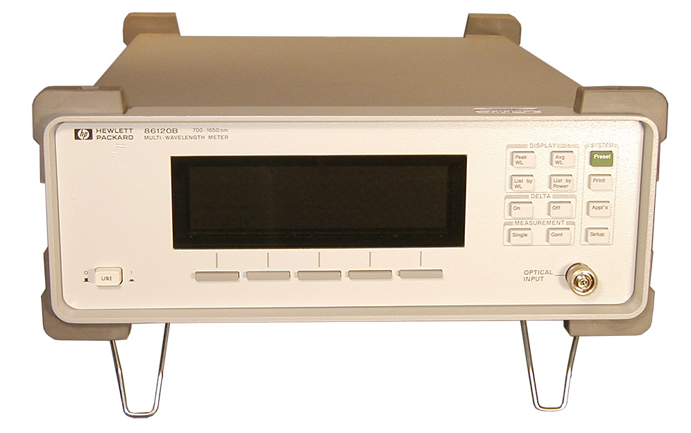 HP/Agilent 86120B Lightwave Optical Wavelength Meter