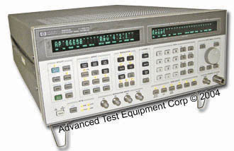 Rent HP / Agilent 8665B 100 kHz - 6 GHz High Performance Synthesized Signal Generator