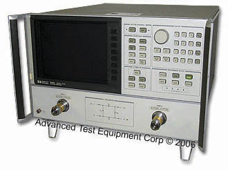 Rent 8720A Network Analyzer with Time Domain Capability