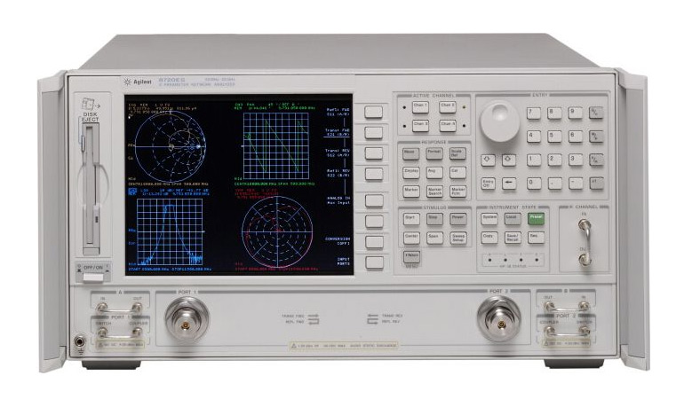 HP/Agilent 8720ES S-parameter Network Analyzer
