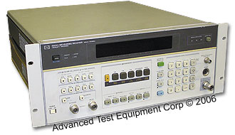 HP/Agilent 8901B AM/FM Modulation Analyzer, 150 kHz - 1,300 MHz