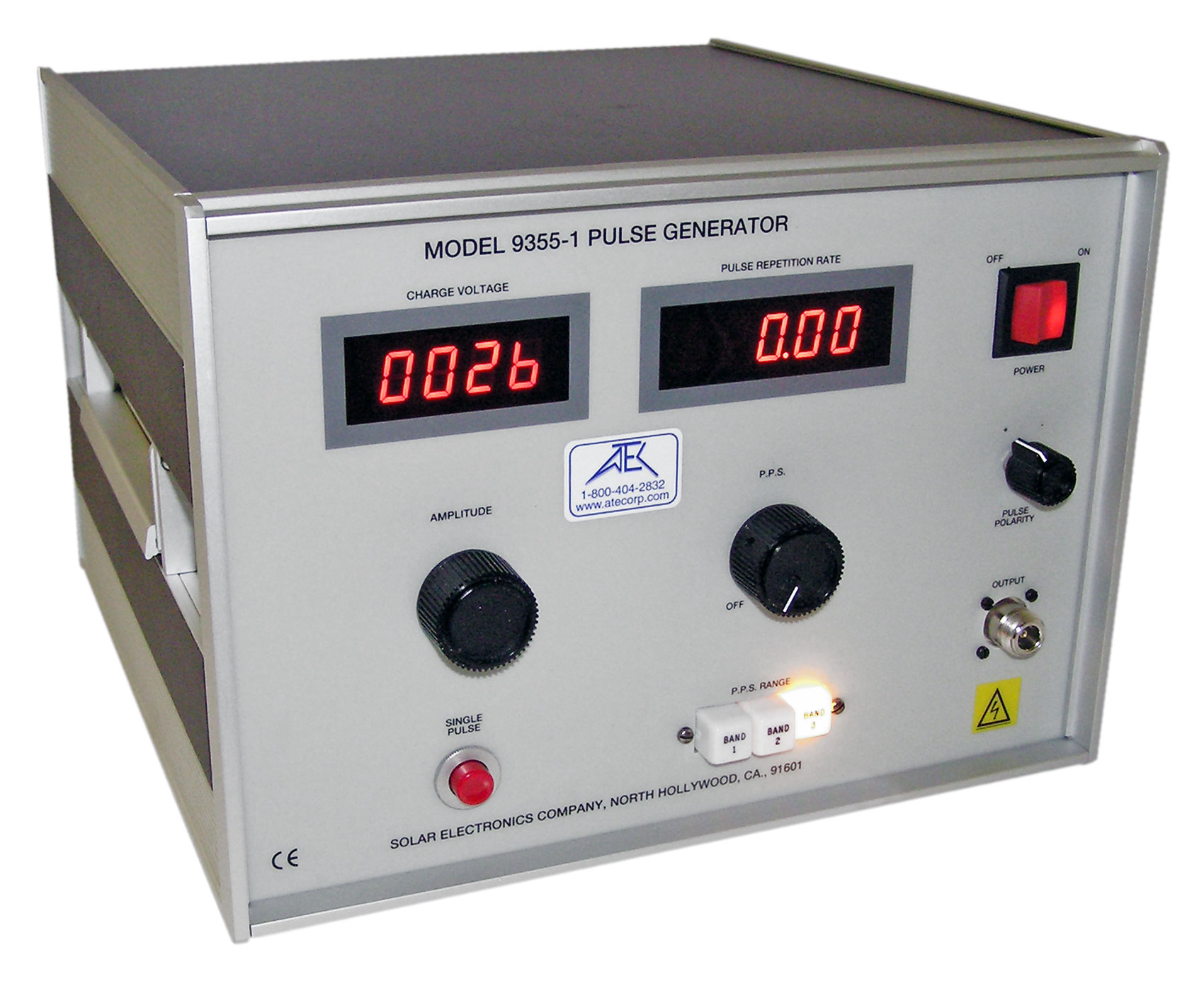 Rent Solar 9355-1 0 - 2 kV Pulse Generator for MIL-STD-461D/E CS115