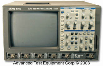 Rent LeCroy 9360 Fast Digitizing Oscilloscope 600 MHz, 5 GS/s