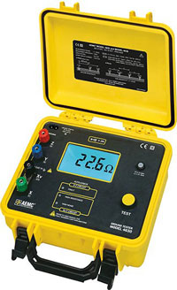 AEMC 4630 4-Point Ground Resistance Tester %>