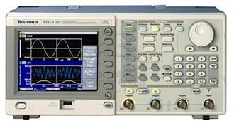 Rent Tektronix AFG3102 Arbitrary Function Generator, 100 MHz, 2 Channels