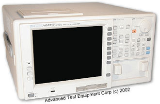 Rent Ando AQ6317B Optical Spectrum Analyzer (OSA