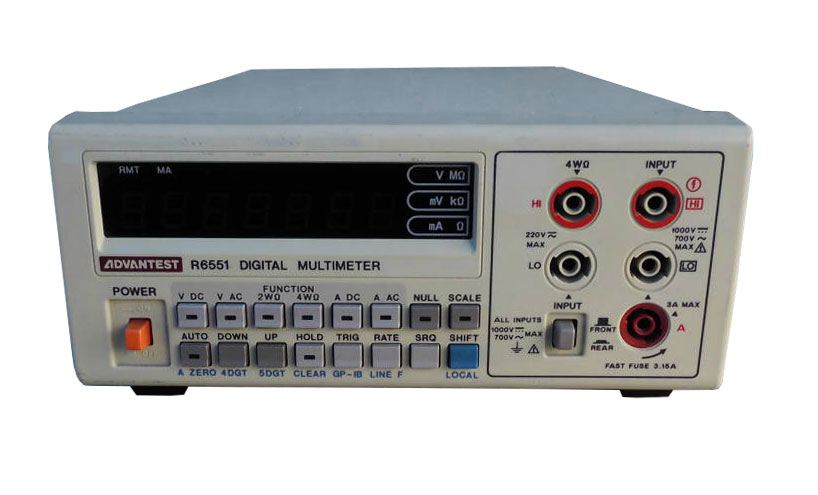 Rent Advantest R6551 Digital Multimeter, 5.5 Digits