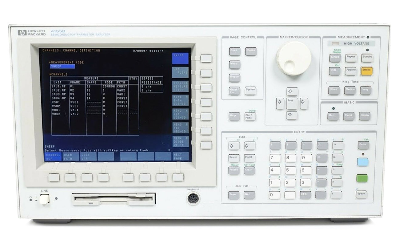 HP/Agilent 4155B Semiconductor Parameter Analyzer