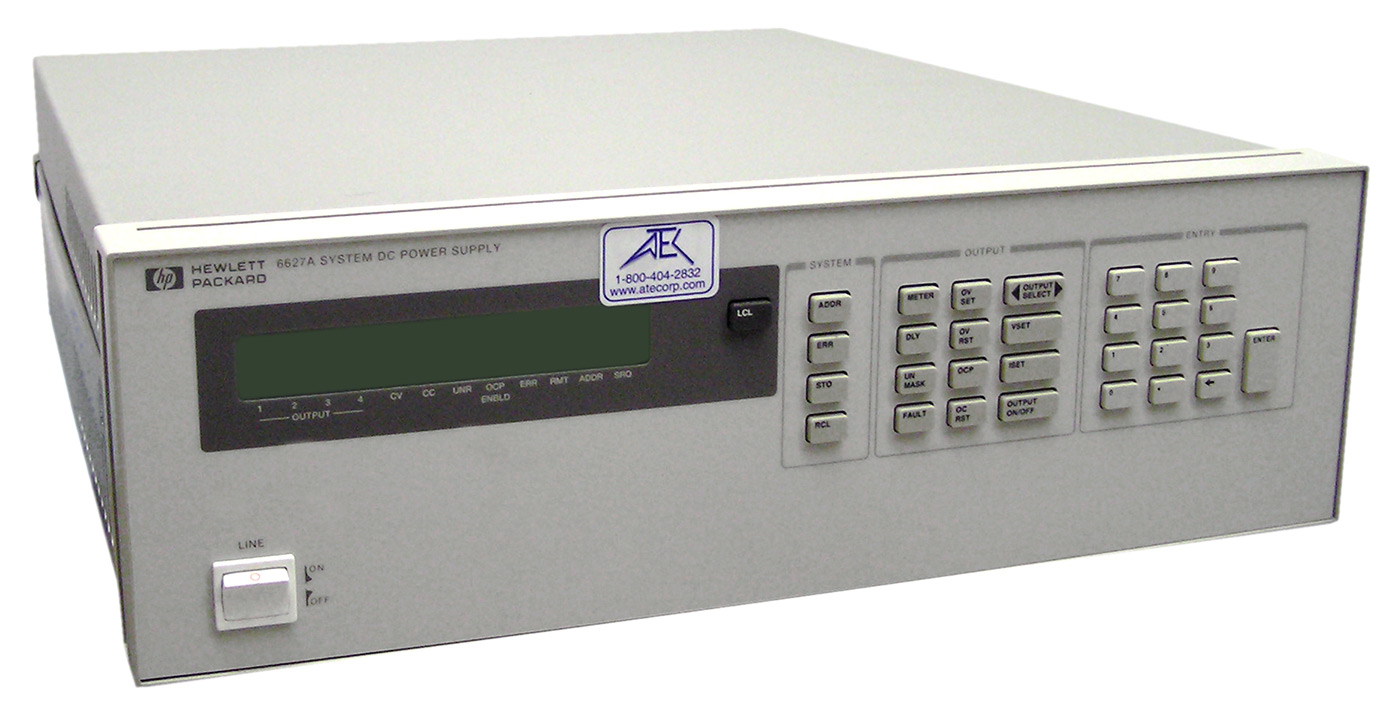 HP/Agilent 6627A Precision DC Power Supply %>